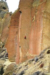 To Bolt or Not To Be, 5.14a, Smith Rock