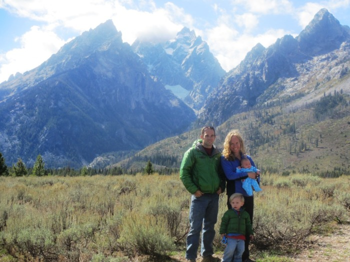 Anderson Climbing Team Version 3.0, in the Tetons