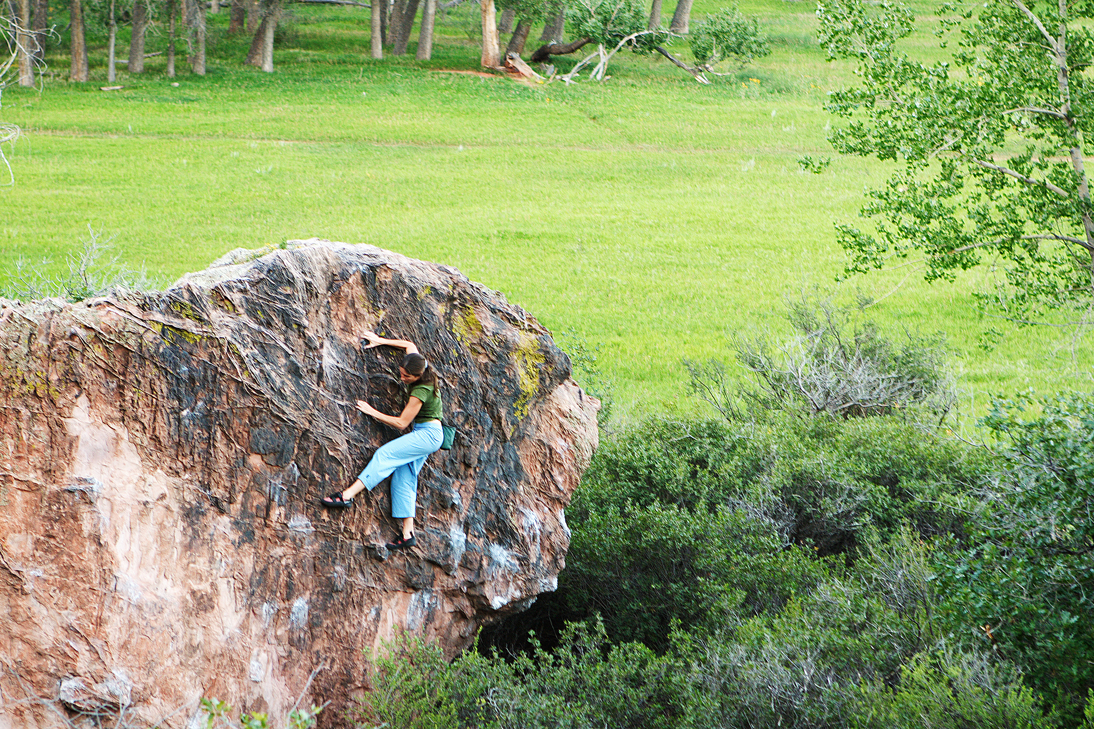 Bouldering the rock climber 39 s training manual - Garden of the gods rock climbing ...