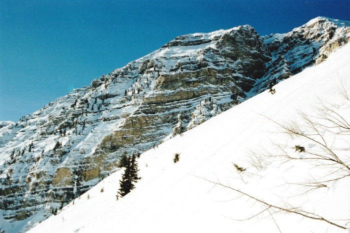 The northern aspect of Mt. Timpanogos