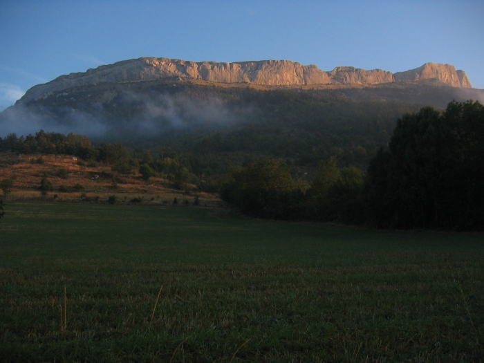 The Ceuse Massif.  Likely the best chunk of exposed limestone on the planet.