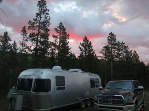 Friday Sunrise at the Aspen Glades.
