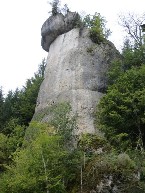 The southeast aspect of Rabenfels.