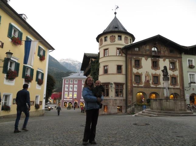 Walking around the streets of Berchtesgaden.