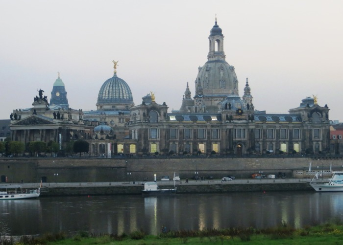 """The skyline was intricate and voluptuous and enchanted and absurd.  It looked like a Sunday school picture of heaven"" - Kurt Vonnegut, describing Dresden in Slaughterhouse V"