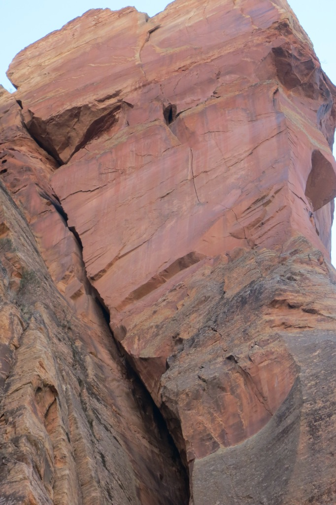 A captivating splitter in Zion Canyon that has haunted my dreams for eight years. Will it go free???