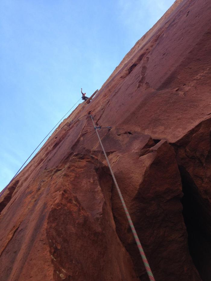 Spoiler Alert! Looking up at Pitch 5.