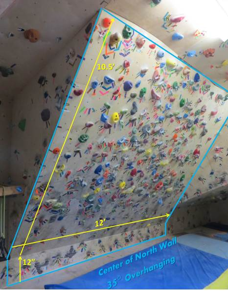 The Money Wall, my happy place for Limit Bouldering.