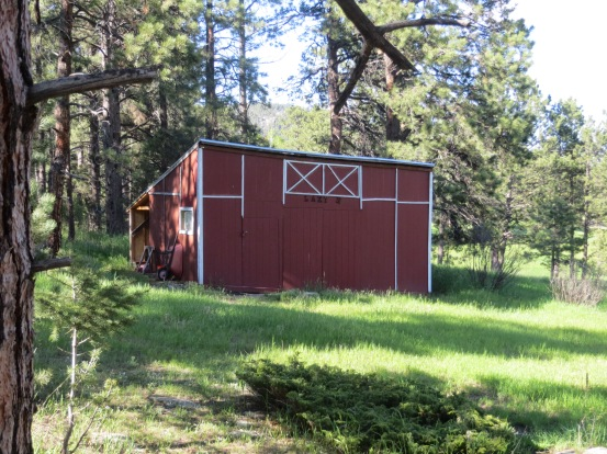 The Lazy H Climbing Barn.  Not a bad venue—isolated, with ceilings up to 12-feet high, and located at a nice cool altitude of 7400-feet.